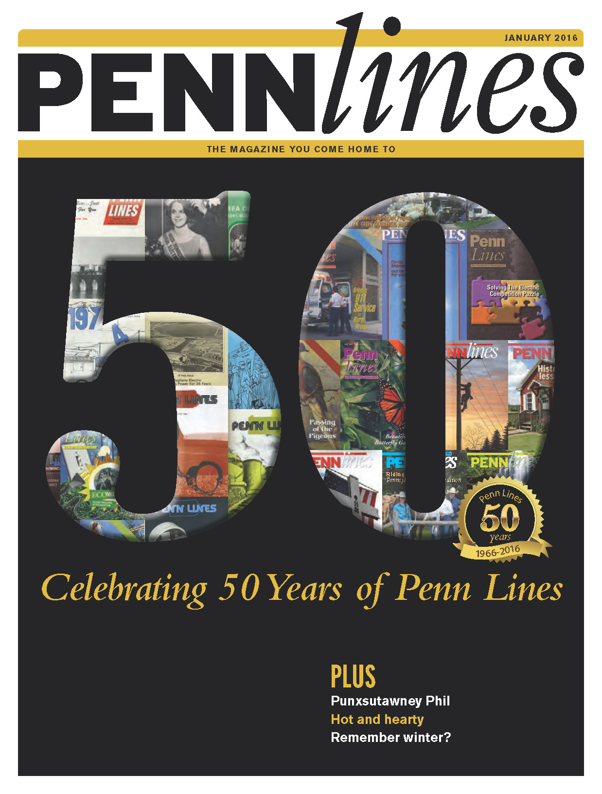 50th Anniversary Penn Lines magazine cover